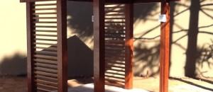 Gazebos de madeira