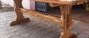 Mesa para churrasqueira